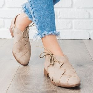 Shoes - VANESSA flats - TAUPE